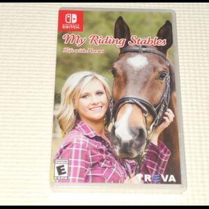 SWITCH★MY RIDING STABLES LIFE WITH HORSES 海外版(国内本体動作可能)★新品未開封