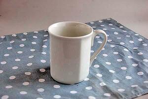 8角形 白 マグカップ 1個