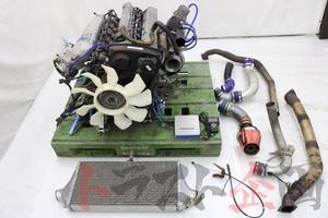 1300007301 ECR33後期 RB25DET エンジン パワーFC他 セット スカイライン GTS-tタイプM HCR32 後期 2ドア トラスト企画 送料無料 U