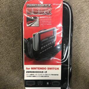 ニンテンドー Switch スイッチ カバー ケース ポーチ エレコム ゼロショック 衝撃吸収 カードケース ソフトケース