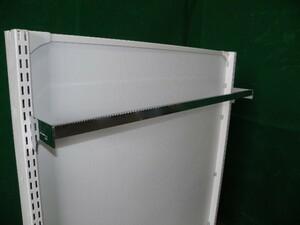 角バー10本セット/ブラケット D10cm W900 システム什器等に■Y-401(3)