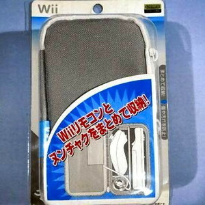 ●Wii・新品●リモコンポーチWii グレー★