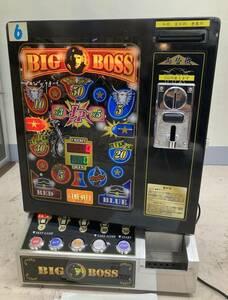 free shipping Bick Boss BIGBOSS 4 gold kind 100 jpy &500 jpy use possibility both change machine super ui person gJP desk game