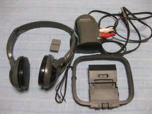 ★Panasonic RP-WH50T(ワイヤレスヘッドホン)オーディオ 格安 音楽 イヤホン ヘッドフォン イヤフォン 音楽 曲 演奏 ジャンク品 部品