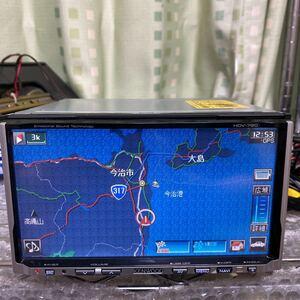 KENWOOD HDDナビゲーション HDV-790 USB HDDジャンク