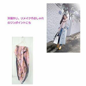 レディース スカーフ 時計パターン 秋冬 コットン 棉麻 薄型 日焼け防止ファッション
