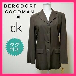 sale☆【未使用 希少】カルバンクライン CK テーラードジャケット レディース BERGDORF GOODMANのタグ付き