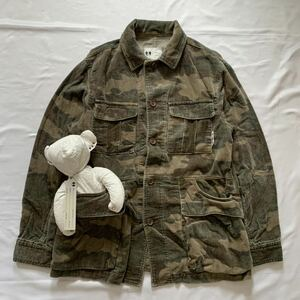 FINAL HOME Hunting Jacket ファイナルホーム ハンティングジャケット ミリタリー カモ 迷彩 Archive Kosuke Tsumura コート