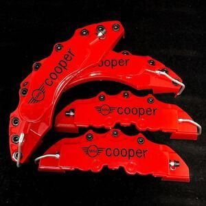 [ metal black bolt ]MINI caliper cover LM size red × black Mini Cooper MINICOOPER R50R52R53R55R56R57R58R59R60R61F54F55F56F57