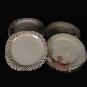 GN0324-120-30 NORITAKE ノリタケ プレート 皿 NEW DECADE VERSATONE まとめ 大皿 大径27㎝(2枚) 径25㎝(5枚) 80サイズ