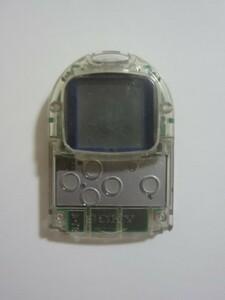 送料無料 即決 ソニー sony プレイステーション PS 1 プレステ ポケットステーション SCPH-4000C クリスタル PocketStation ゲーム b712