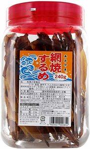 新品/未開封 よっちゃん食品 網焼するめ 240g