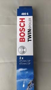 BMW MINI ミニ 第1世代(R50,R52,R53) ワン クーパー 2001~2006<フロント ワイパーブレードセット 鉄製>61612156548「BOSCH」3397118541
