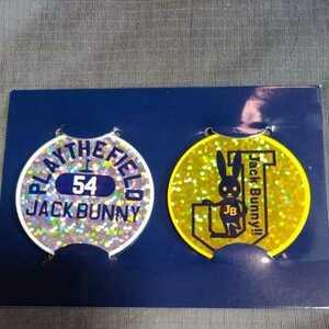新品正規品 ジャックバニー パーリーゲイツ ホログラム マーカー 2個セット 送料無料 イエロー