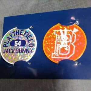 新品正規品 ジャックバニー パーリーゲイツ ホログラム マーカー 2個セット 送料無料 オレンジ