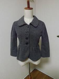 H&M 白&黒 七分袖ショートジャケット