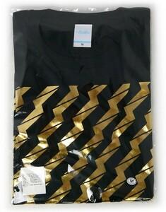 でんぱ組.inc/ビリビリ Tシャツ【黒×金】(M)◆新品Ss(ゆうパケット対応)