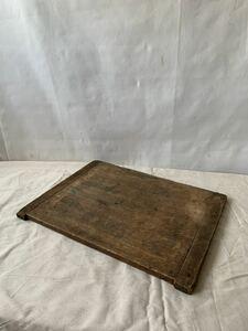 経年の雰囲気が素敵な無垢材板 テーブル天板リメイク陳列展示台木製古道具古物骨董アンティークビンテージ什器インテリアディスプレイ飾り