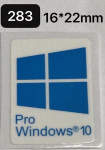 283# будущее поколение [Windows 10 PRO] эмблема наклейка #16*22.# условия имеется бесплатная доставка