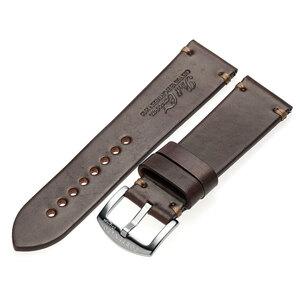 FORTUNATO フォルトゥナート ホーウィン シェル コードバン 時計 ベルト ブラウン 24mm