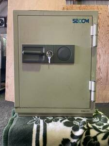 N511 SECOMse com safe fire-proof safe PT-G0790 used width 56.× depth 53.× height 72. key attaching operation goods security receipt limitation (pick up) Nara / raw piece