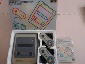 【中古】任天堂 スーパーファミコン箱付き本体 Nintendo ACアダプタ 取扱説明書 コントローラー