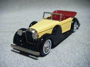 ■ MATCHBOX Model of Yesteryearマッチボックス『Y-11 1938 LAGONDA イングランド製 ダイキャストミニカー』