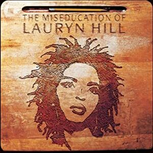 ★ヒップホップ系ソウルの逸品!!イイ女!!lauryn hill ローリン・ヒルのCD【The Miseducation of Lauryn Hill】プラケース仕様。1998年。