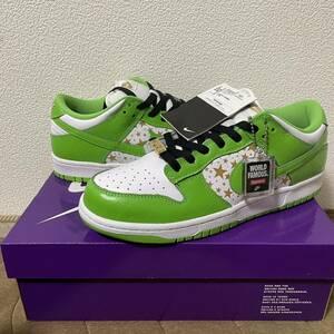 US9 27.0cm 国内正規品 21SS 新品 Supreme シュプリーム Nike SB ナイキ エスビー Dunk Low ダンク ロー Green グリーン 緑