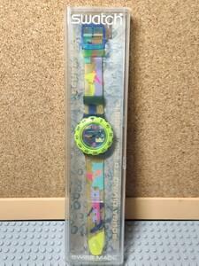 【未使用品】 Swatch スウォッチ スクーバ 黄/青 SDK100
