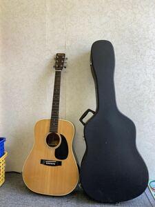 Morris モーリス アコースティックギター W-18 ハードケース付 現状品