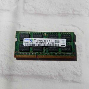 w4.11 ノートPC用メモリ SAMSUNG 2GB 2R×8 PC3-8500S DDR3 動作品