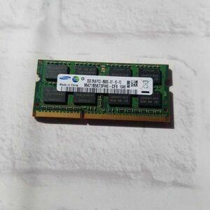 w4.10 ノートPC用メモリ SAMSUNG  2GB 2R×8 PC3-8500S DDR3 動作品