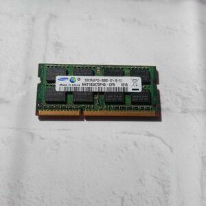 w4.20 ノートPC用メモリ SAMSUNG 2GB 2R×8 PC3-8500S DDR3 動作品
