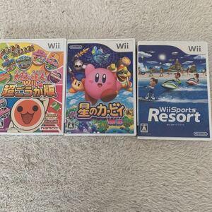 Wiiソフト 星のカービィ マリオ Wiiスポーツ