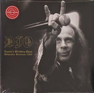 Dio (Ronnie James Dio=Elf, Rainbow, Black Sabbath) Ronnie's Birthday Show 限定二枚組クリアー・カラー・アナログ・レコード