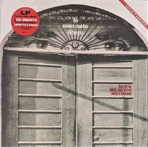 Banco Del Mutuo Soccorso バンコ Io Sono Nato Libero (Legacy Edition) CD付限定リマスター再発アナログ・レコード