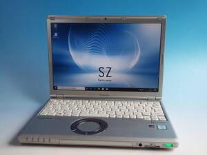 優良品!レッツノートSZ5 Core i5(6300U)2.4Ghz/8GB/SSD256GB/12.1/カメラ/Windows10/DtoD/WLAN/Bluetooth/消毒済/Ver.13