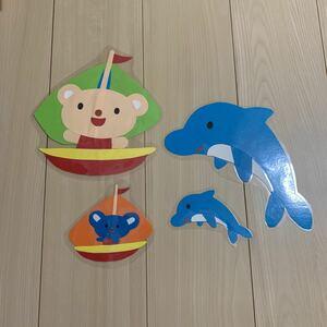 壁面飾り 保育園 幼稚園 壁面装飾 ハンドメイド 夏