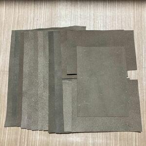 ハンドメイド レザークラフト レザー 床革 ハギレセット