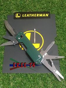 未使用品 LEATHERMAN FREE T4 Green レザーマン マルチツール ツールナイフ