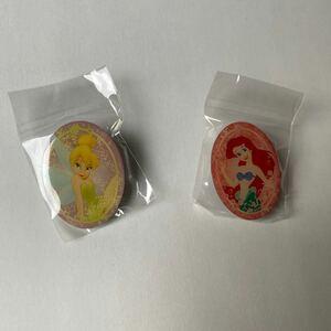 ピンバッジ レア ディズニー プリンセス ティンカーベル アリエル Disney ピーターパン リトルマーメイド