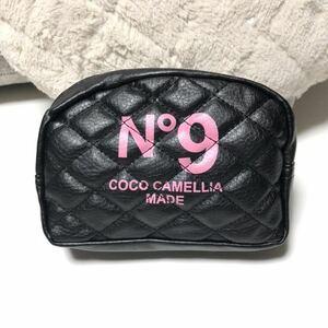 【特価SALE】新品 キルティング ポーチ レディース メンズ 化粧 コスメ ロゴ プレゼント 誕生日 福袋 大人気 ピンク