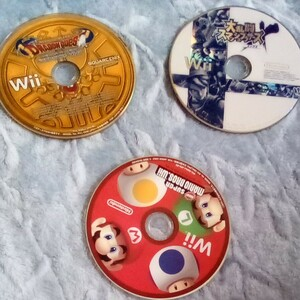 中古 Wiiソフト NewスーパーマリオブラザーズWiiスマブラとドラクエ1-2-3