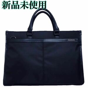 【新品】ビジネスバッグ  通勤  黒    斜めショルダー  A4サイズ