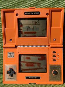 【送料無料】任天堂 Nintendo ゲームウォッチ GAME&WATCH ドンキーコング DONKEY KONG DK-52【動作品】