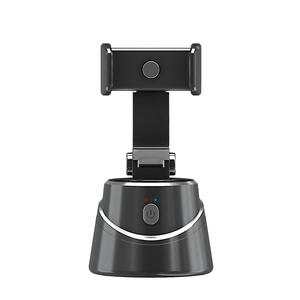 360度 回転 スマホスタンド 自動追尾 電池駆動 自撮り 動画撮影 スマートフォン ホルダー 雲台 配信 スタンド