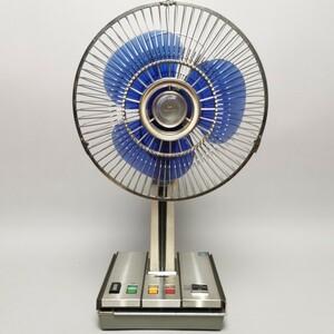 希少 【 MITSUBISHI R30-SX4 扇風機 】三菱 最 高級 電化製品 スイッチ コンパック 首振 角度 調節 貴重 古い 昭和 レトロ アンティーク