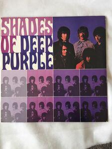 DEEP PURPLE ディープ・パープル SHADES OF DEEP PURPLE ハッシュ ディープ・パープル LP盤