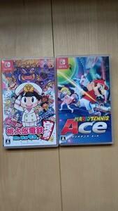 マリオテニスエース と 桃太郎電鉄 Nintendo Switch